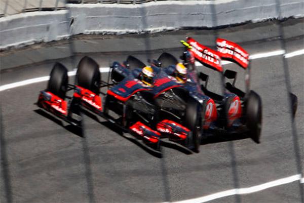 Lewis fez bela corrida de recuperação