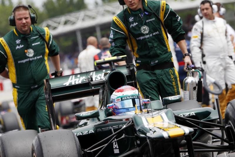 Petrov chega ao grid na Espanha