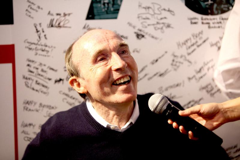 Frank Williams festejou seus 70 anos em Barcelona