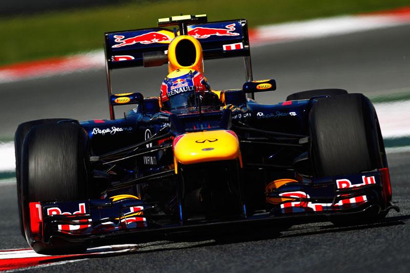 Largando em 11º, Webber ficou fora dos pontos na Espanha