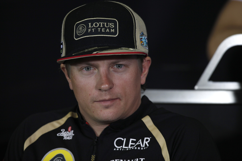 Kimi Raikkonen é quarto no Mundial