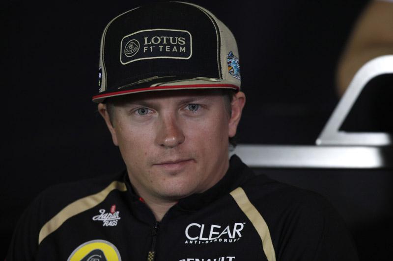Raikkonen é quarto colocado no campeonato