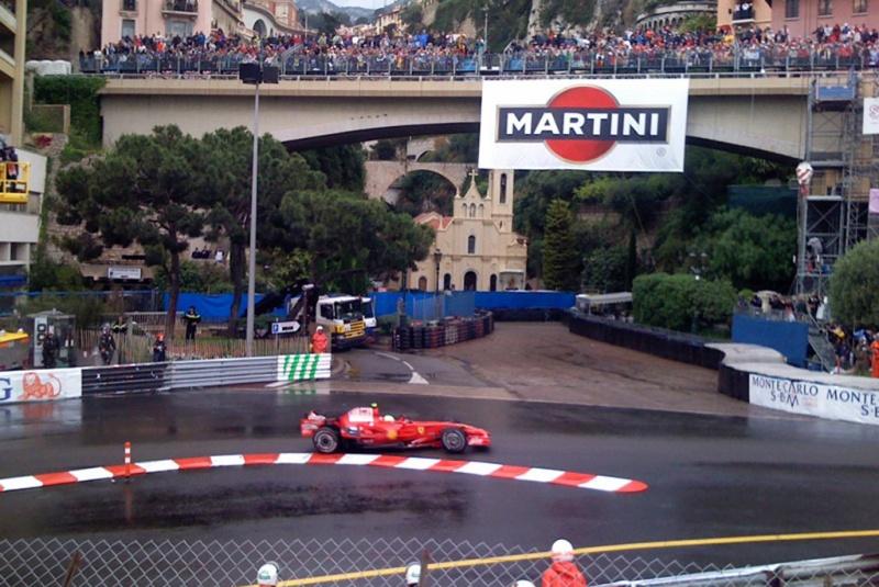 No último GP sob chuva em Mônaco, Massa chegou a liderar
