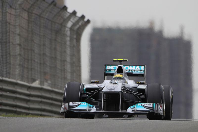 Rosberg comemorou ter liderado uma corrida depois de um bom tempo