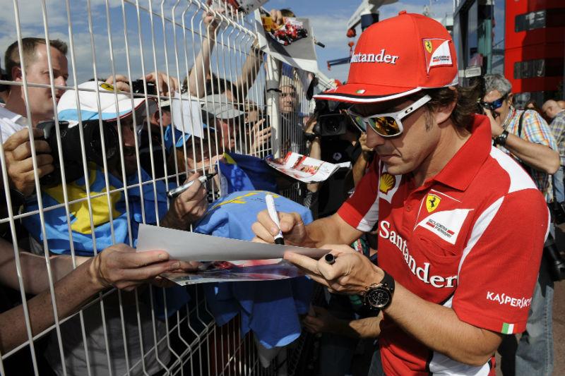 Alonso foi o mais rápido