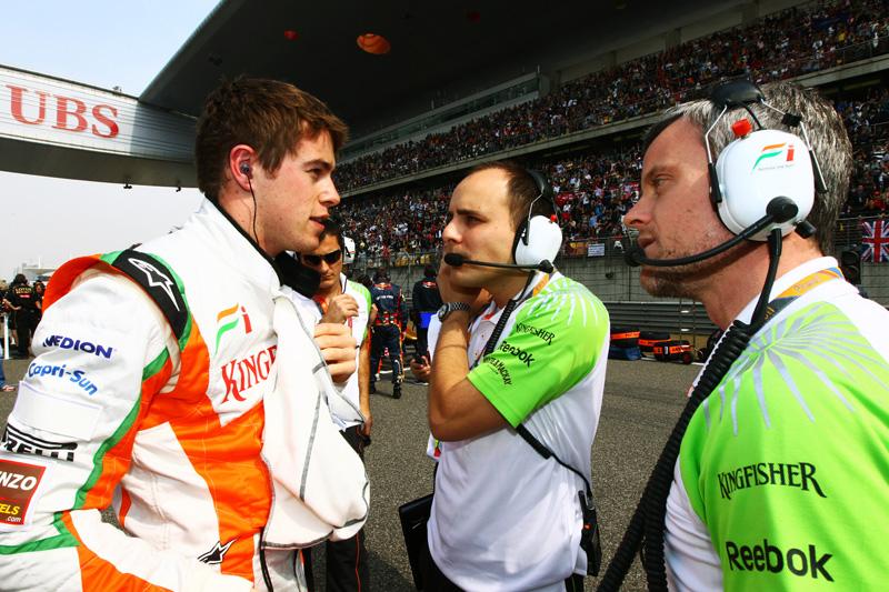 Di Resta perdeu a décima colocação a três voltas do final