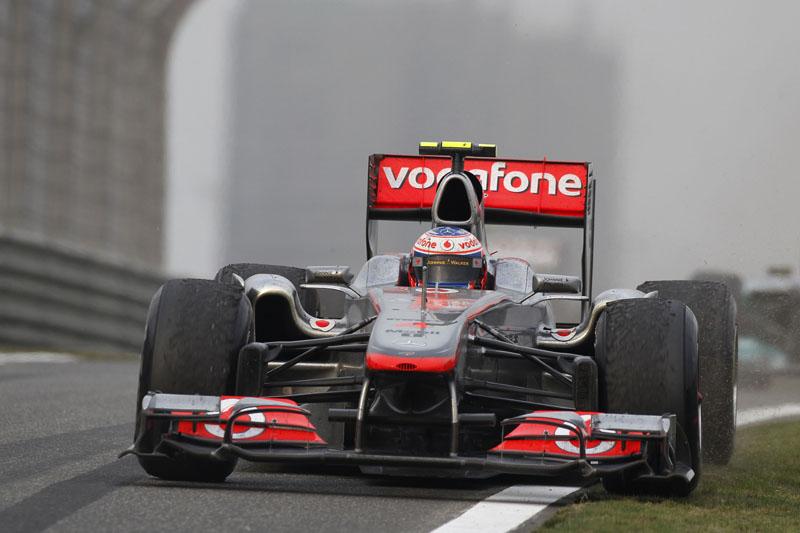 Button foi superado com facilidade pelo companheiro Hamilton no GP da China