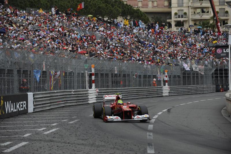 Massa foi sexto colocado em Monte Carlo