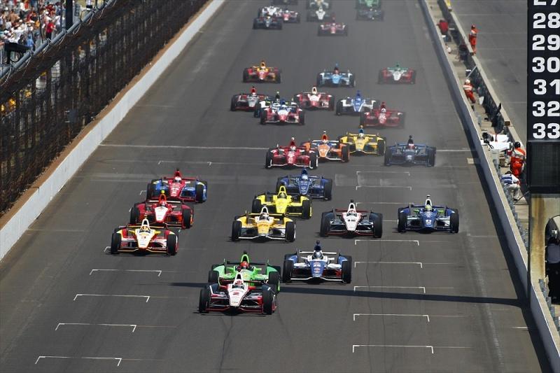 Largada das 500 Milhas de Indianápolis de 2012
