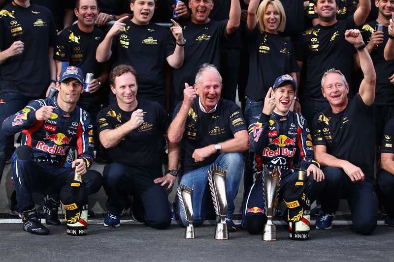 Marko comemora vitória da Red Bull