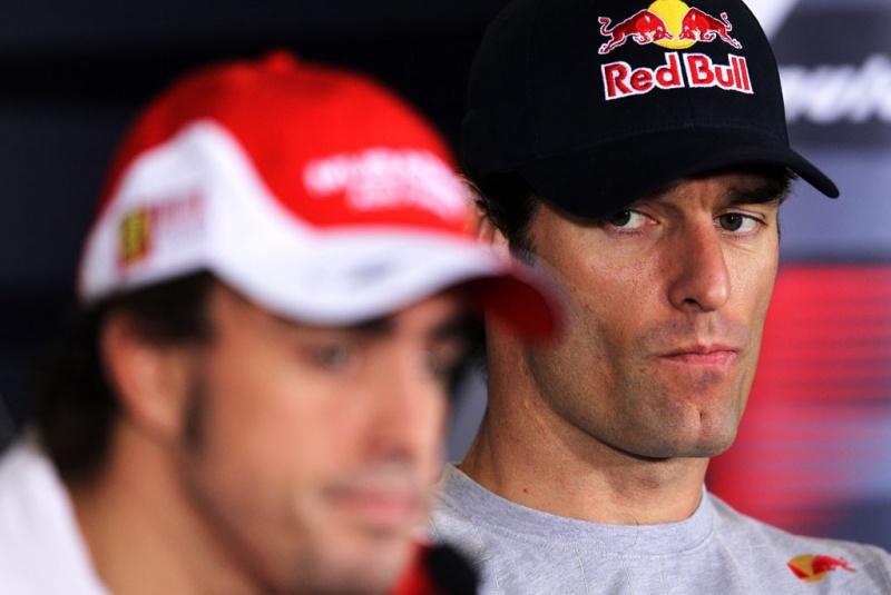 Alonso e Webber