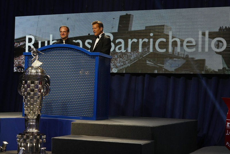 Barrichello recebeu bolada em Indianápolis