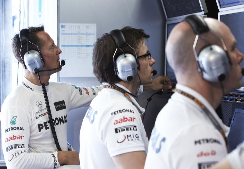 Schumacher tem apenas dois pontos no campeonato