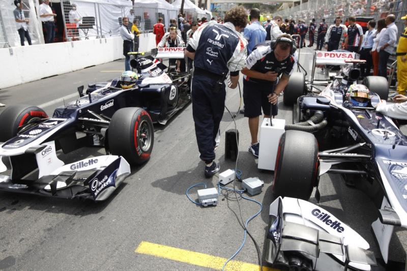 Williams se prepara para o GP de Mônaco