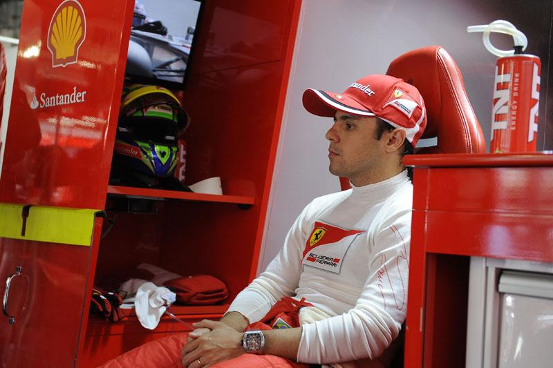 Massa faz sua sétima temporada na Ferrari