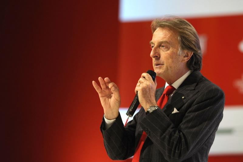 Montezemolo disse não aceitar ver a Ferrari no nível atual