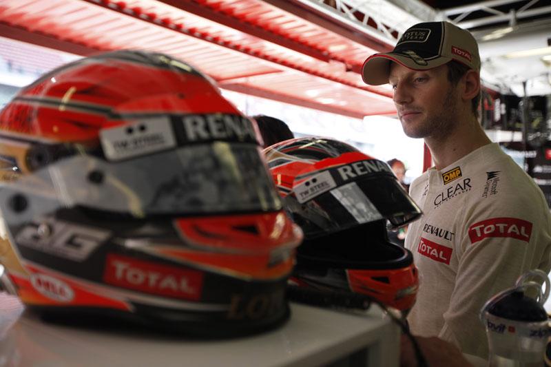 O francês Romain Grosjean