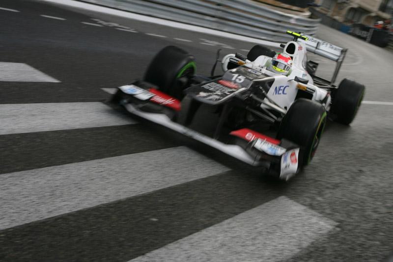 A Sauber marcou 11 pontos nas últimas 4 etapas