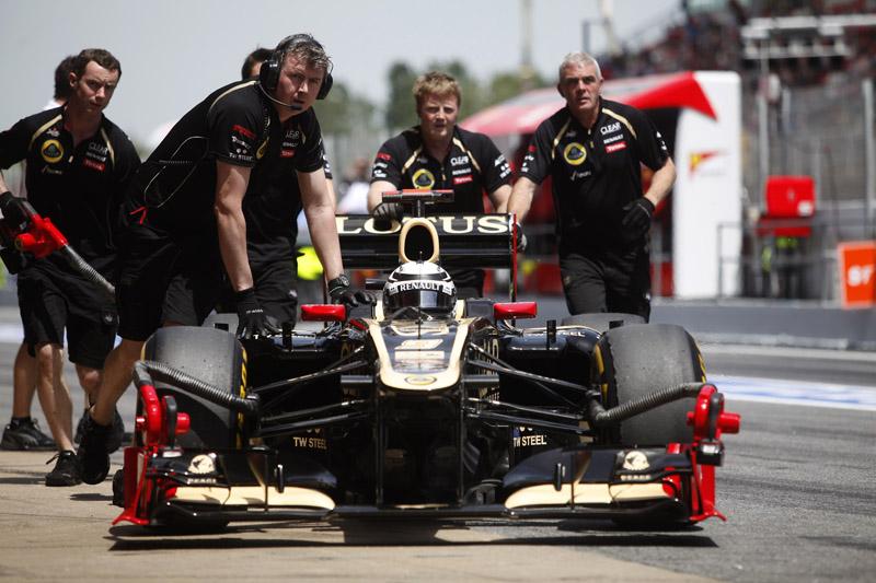 Raikkonen é sexto no campeonato