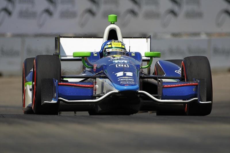 Kanaan é o melhor brasileiro da Fórmula Indy em Detroit