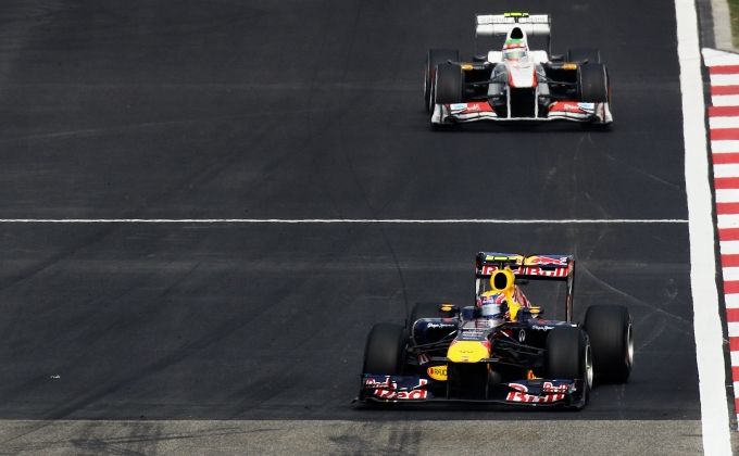 Mark Webber fez 14 ultrapassagens em Xangai