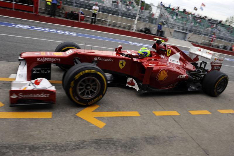 Massa gostou do comportamento do F2012