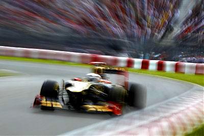 Kimi Raikkonen: sexta fila em Montreal