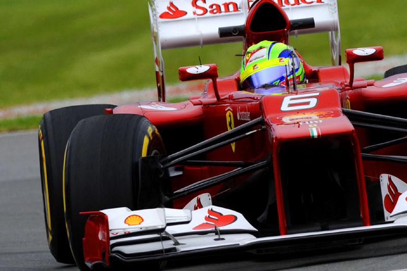 Massa não se conforma com pequeno erro na curva 6