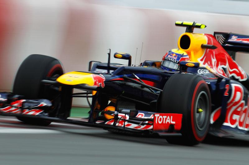 Webber é terceiro no campeonato