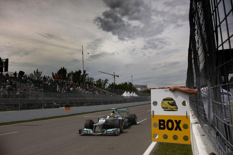 Rosberg fala em pódio no Canadá