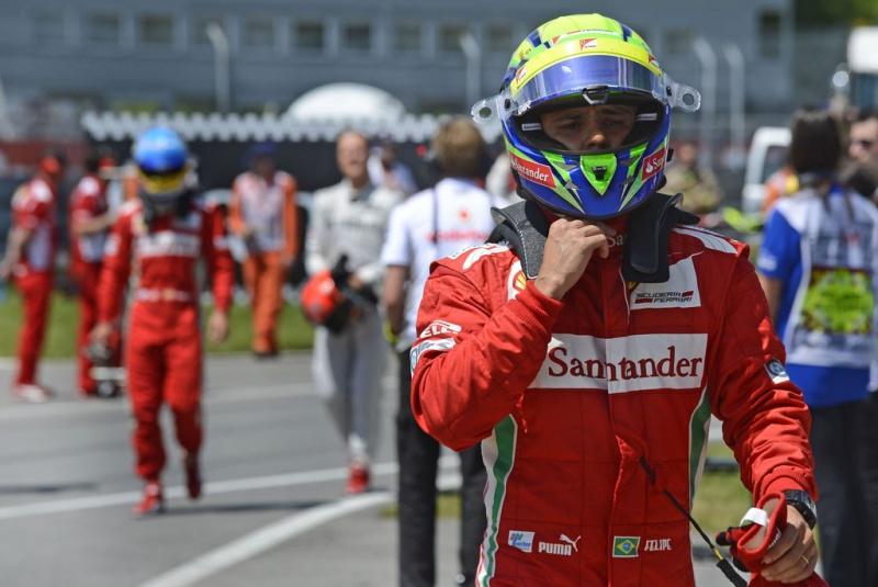 Felipe Massa saiu da corrida com um ponto