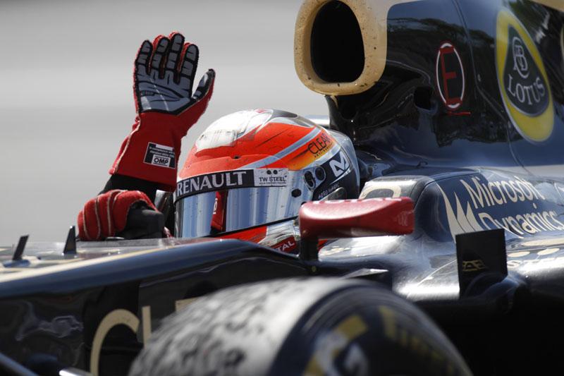 Grosjean conquistou segundo pódio