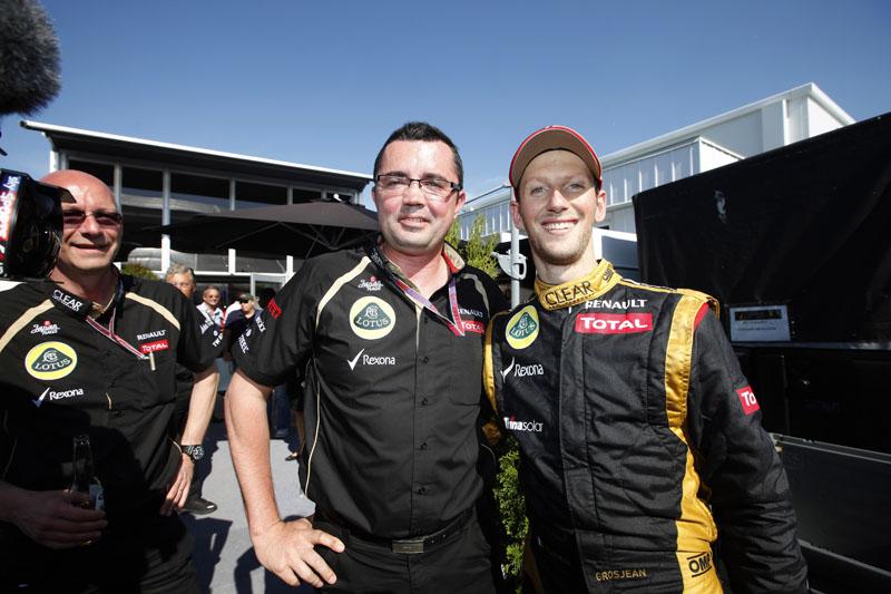 Boullier e Grosjean