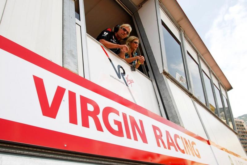 Branson no GP de Mônaco do ano passado