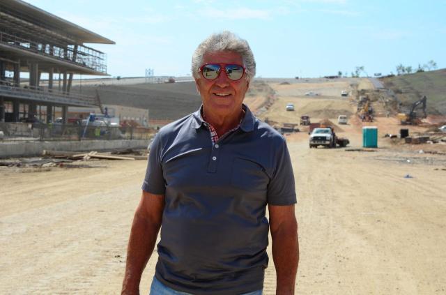 Andretti visita o Circuito das Américas