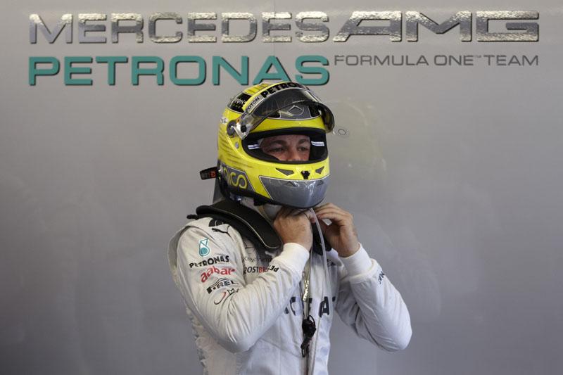Rosberg é quinto colocado no Mundial