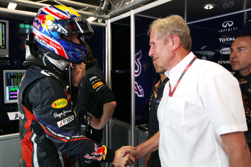 Marko indicou que Webber fica em 2013