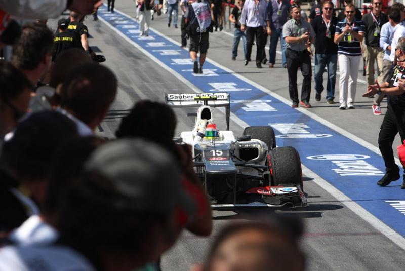 Perez foi terceiro no Canadá