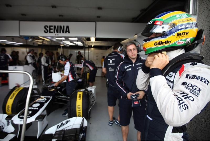 Bruno Senna é o 14º no campeonato