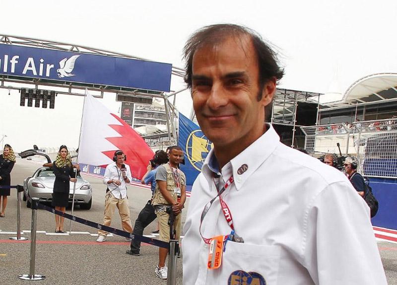Pirro foi comissário no Bahrein