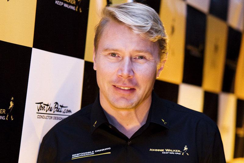 Mika Hakkinen, hoje embaixador de direção responsável