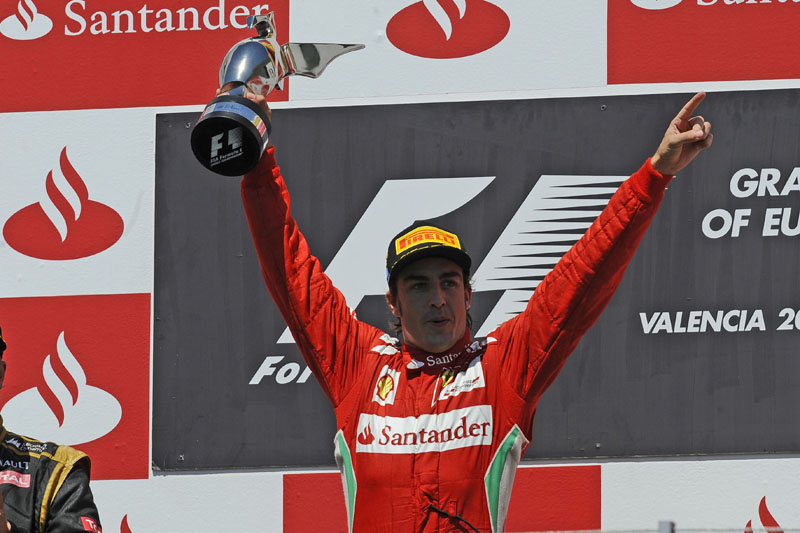 Alonso comemorou a 29ª vitória da carreira
