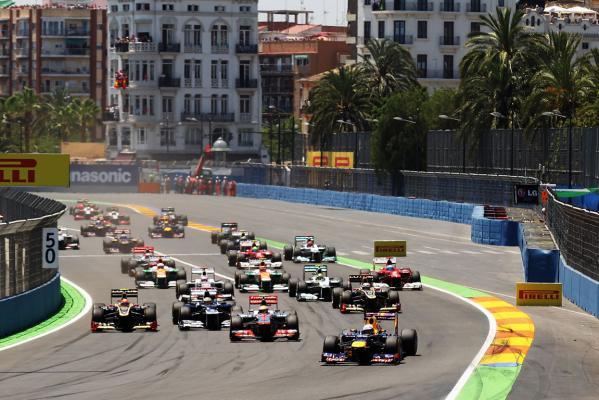 A GP da Europa é realizado em Valência desde 2008