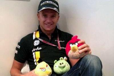 Heikki e os Angry Birds