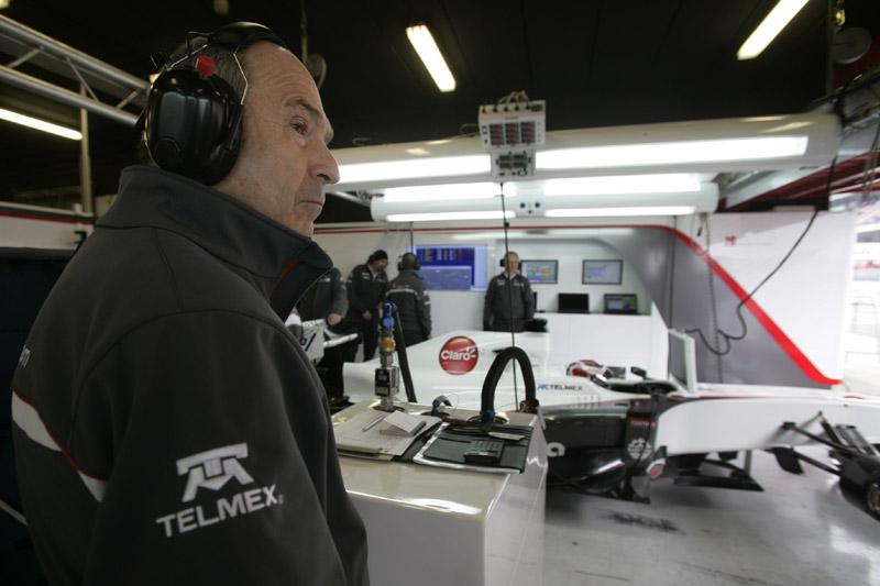 Peter Sauber está feliz com a relação de seus carros com os pneus