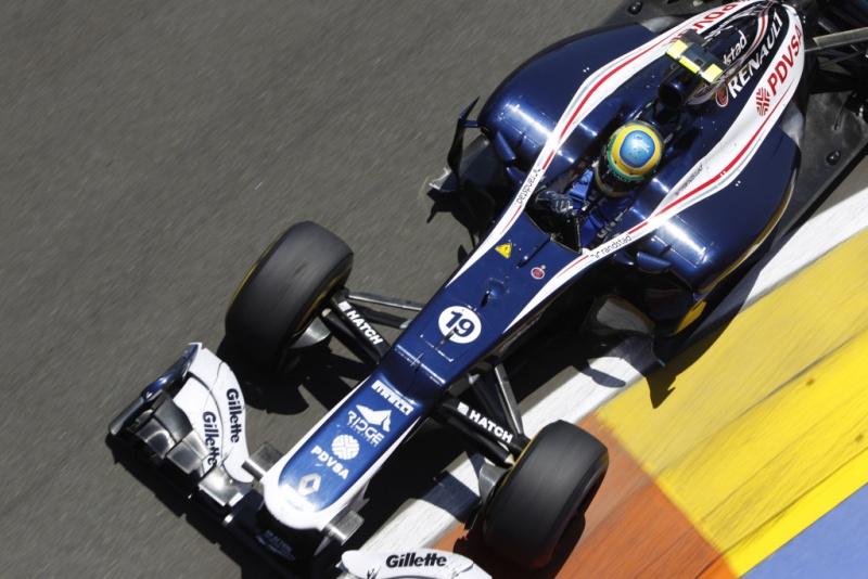 A Williams está em sexto no campeonato, com 45 pontos
