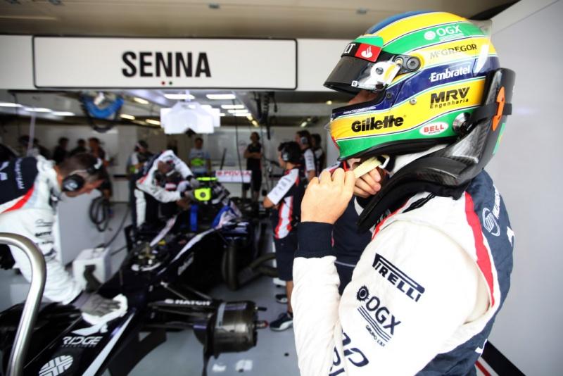 Senna é 15º no campeonato, com 16 pontos