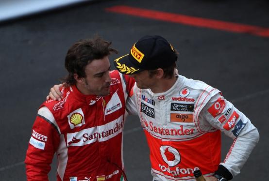 Alonso e Button