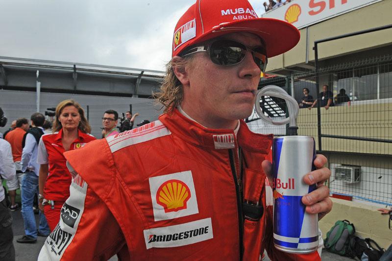 Raikkonen pilotou pela Ferrari entre 2007 e 2009
