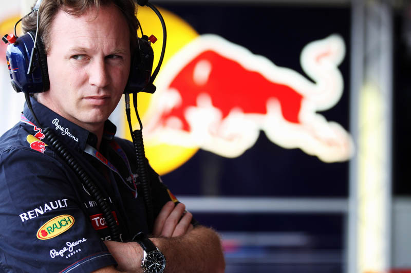 O chefe da Red Bull, Christian Horner